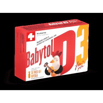 Babytol D3, 30 twist-off...