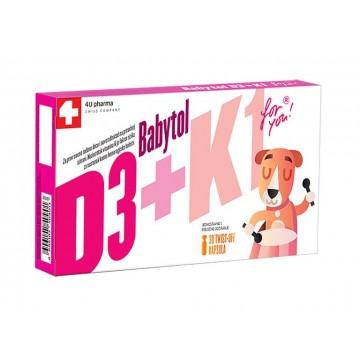 Babytol D3 + K1, 30 twist...